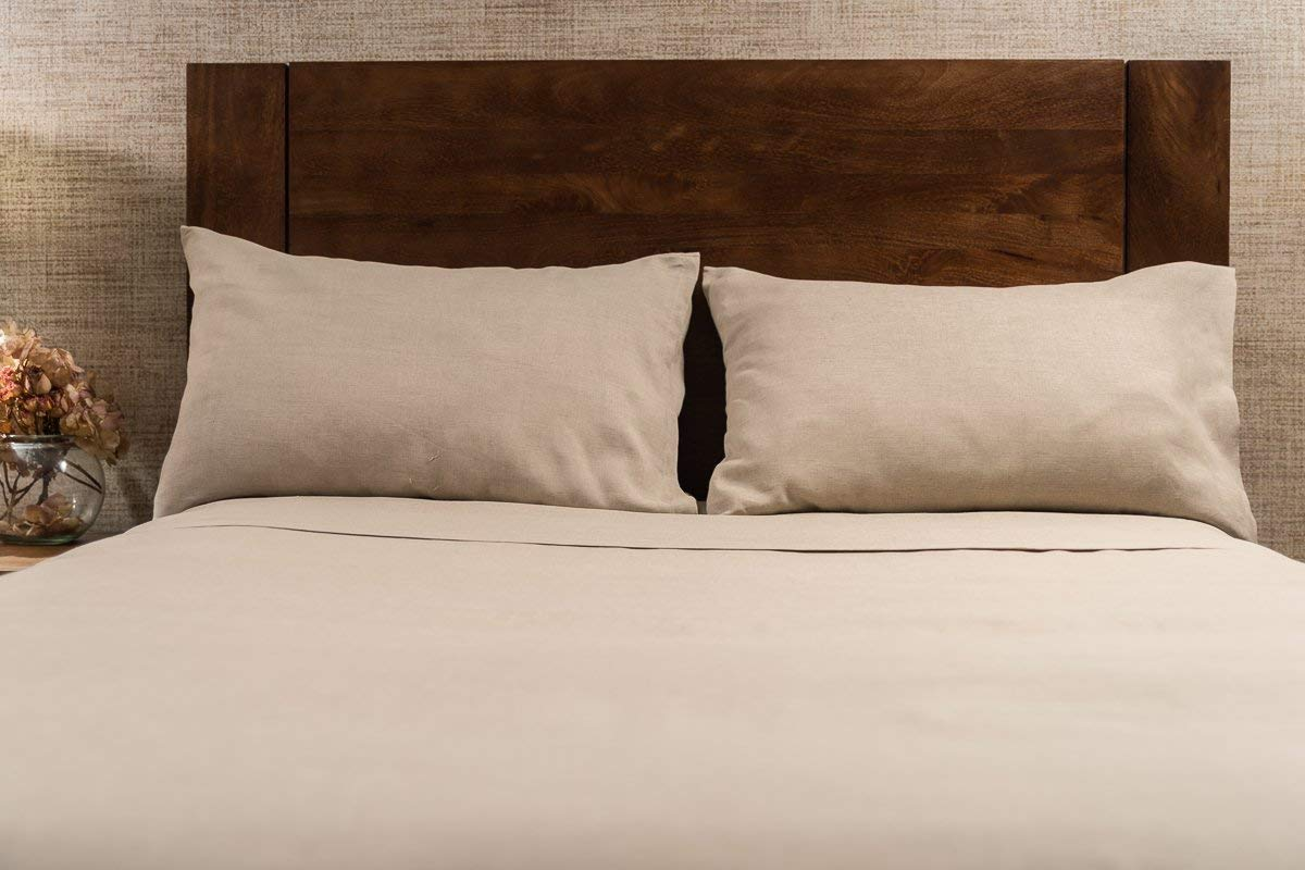 Image of Len Linum Pure Linen Sheets Set - Best Sheets for Sweaty Sleepers