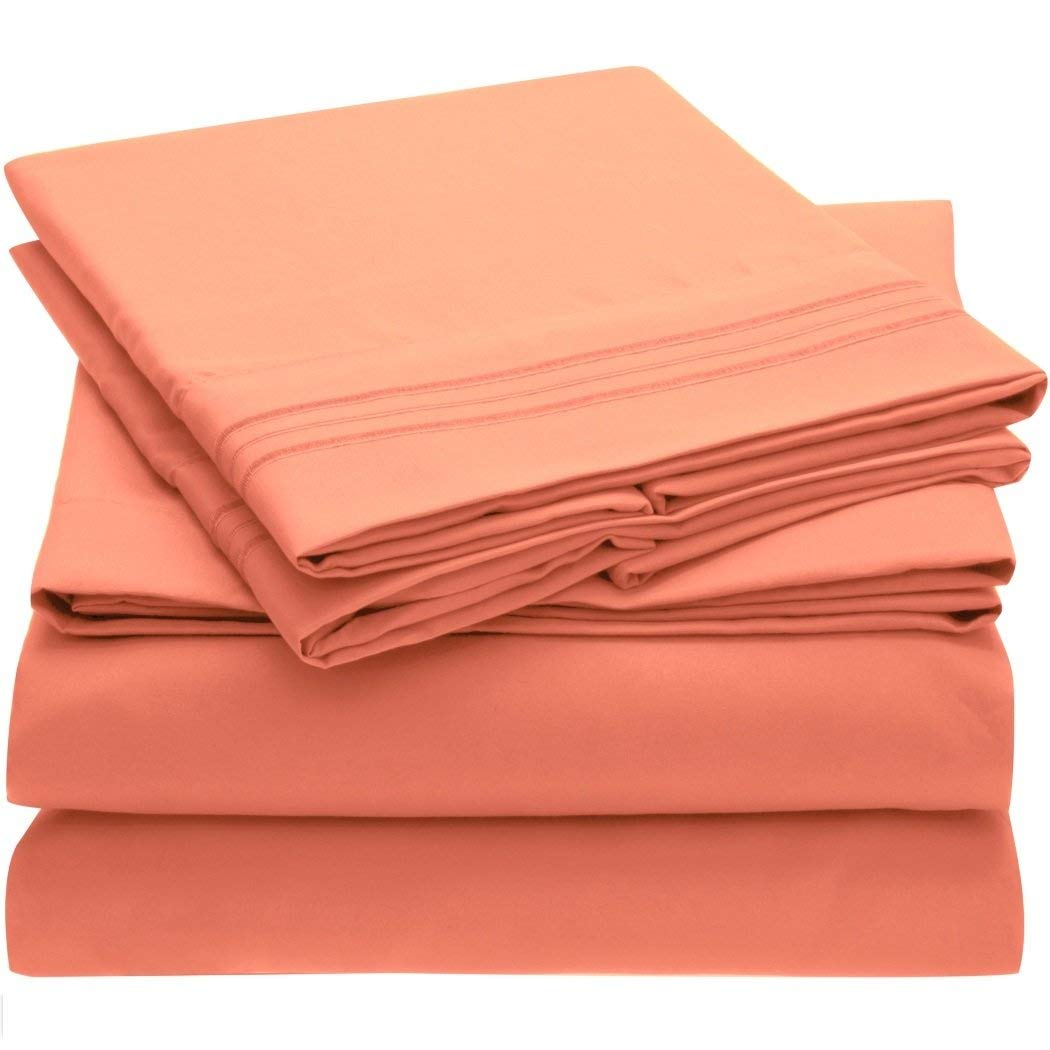 Image Of Ideal Linens Microfiber Bed Sheet Set   What Are Microfiber Sheets