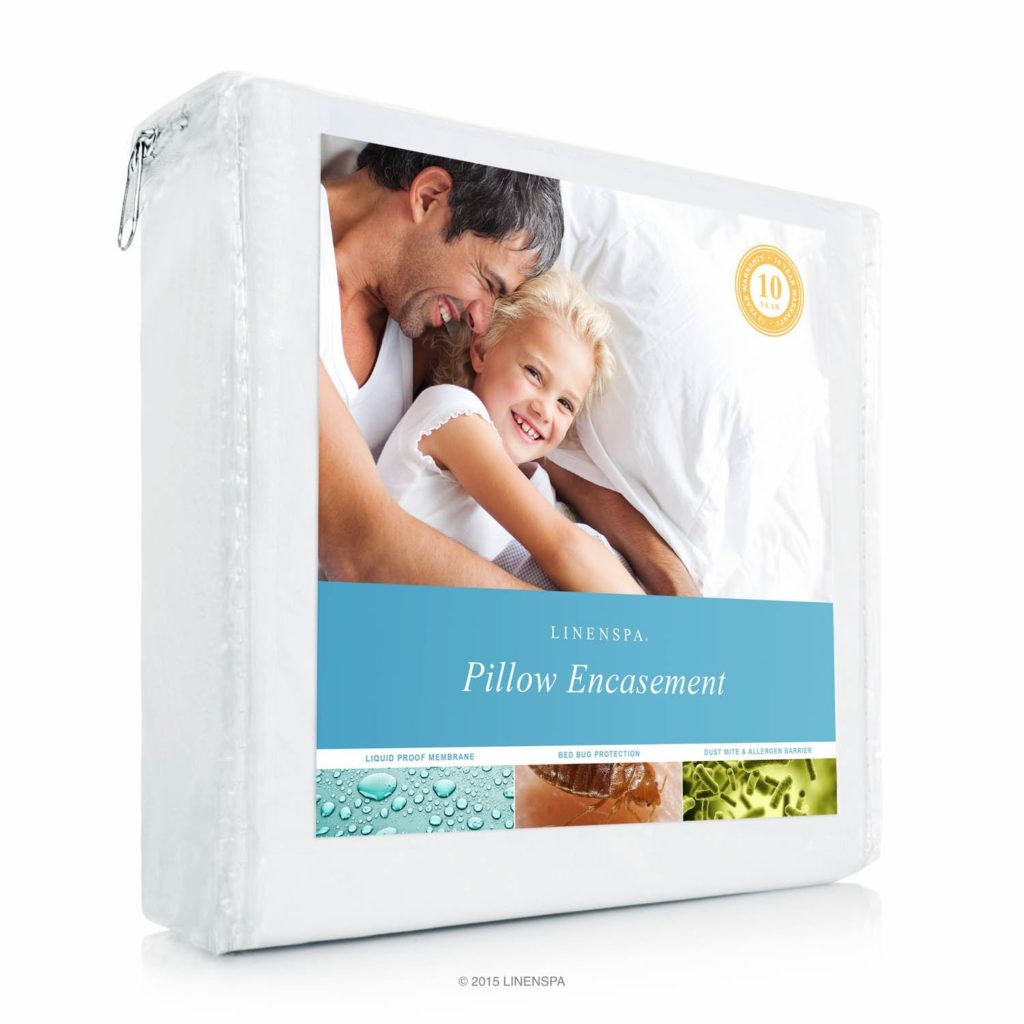 Image of Linenspa pillow encasement - Best Thing to Kill Bed Bugs