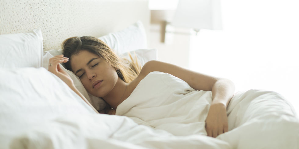 Image of Woman Sleeping - How Good are Microfiber Sheets?