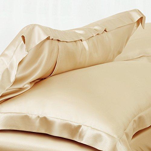 Ellesilk 25 Momme Silk Sheet Set - High Thread Count Sheets