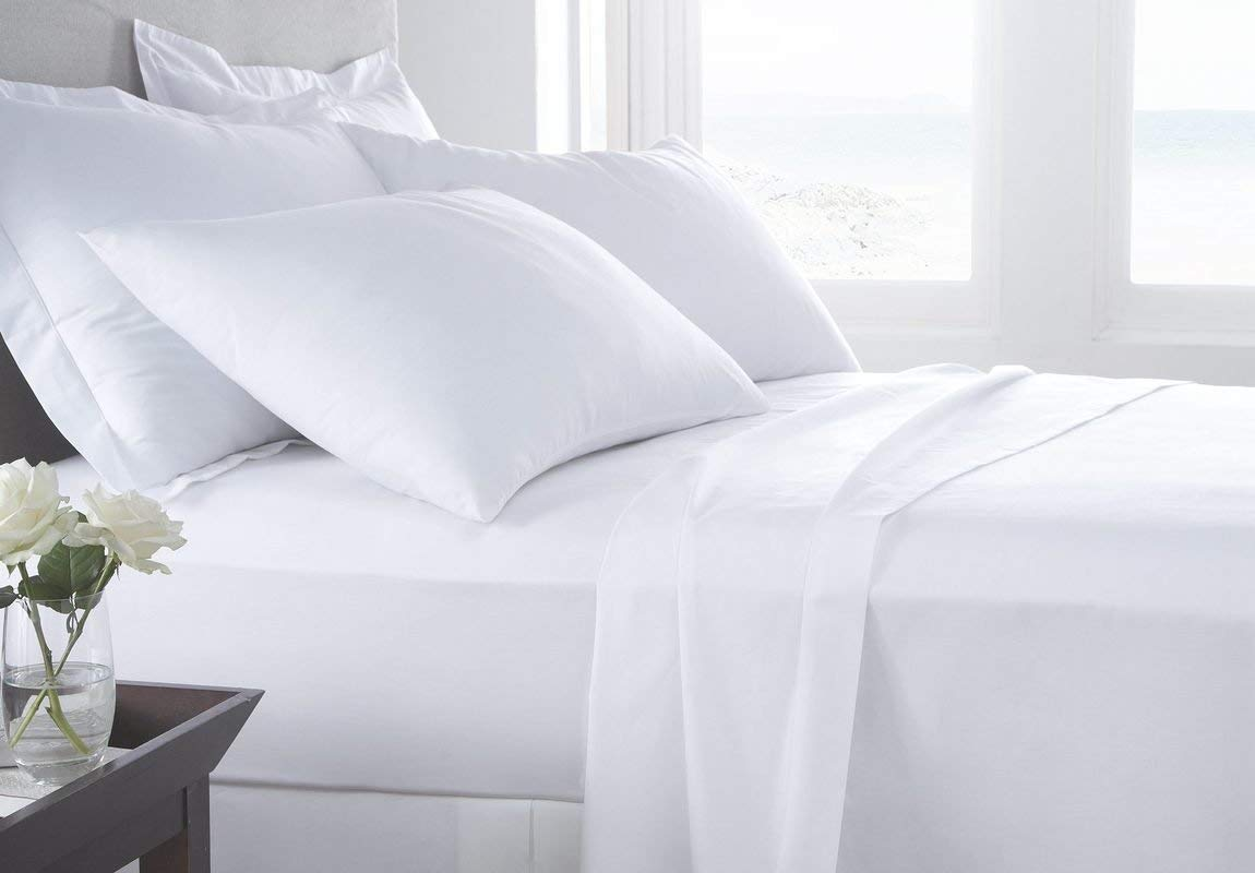 Image of Serene Linens 100% Pima Cotton Sheet Set - Best 600 Thread Count Sheets