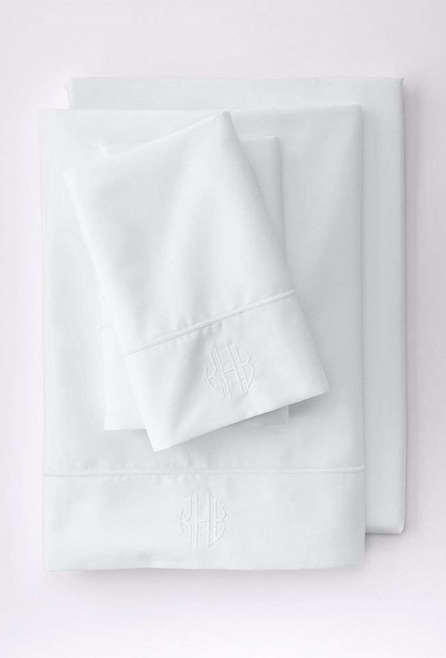 Lands' End No Iron Supima Solid Sheets - Best Sheets for Night Sweats
