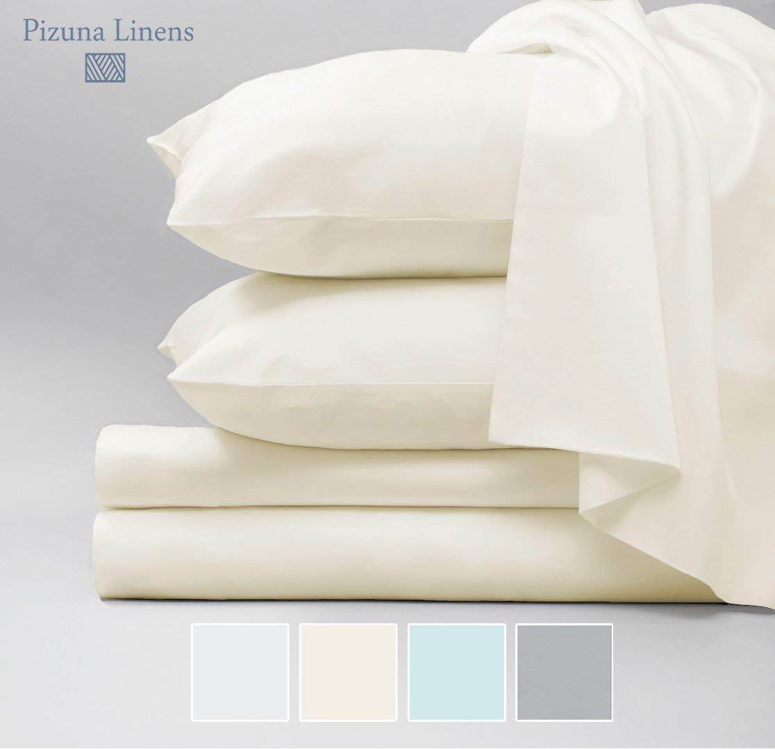 Image Of Pizuna Linens 1000 Thread Count Cotton Sheet Set Best Sheets