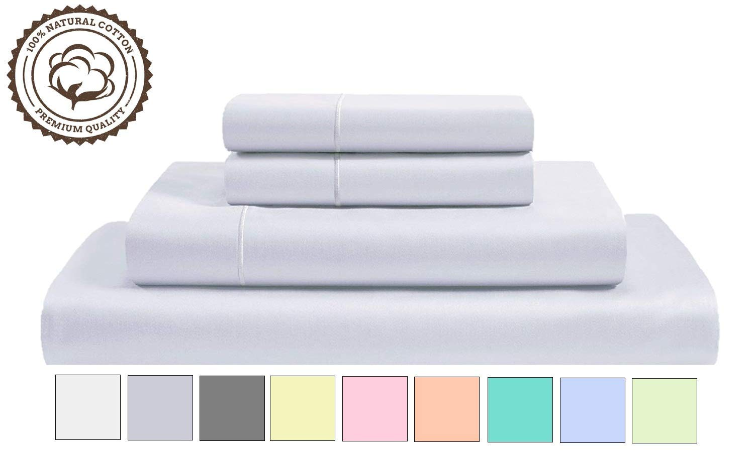 Linenwalas 800 Thread Count Cotton Sheets - High Thread Count Sheets
