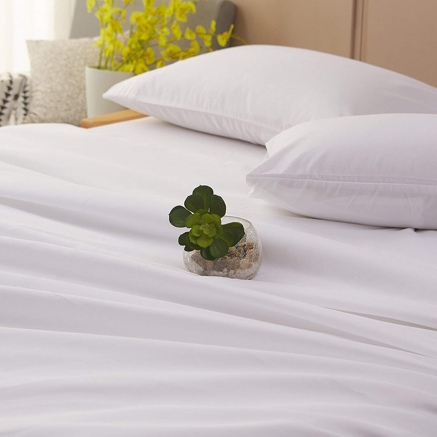Image of Minor Monkey's Egyptian Cotton 1000 Thread Count Sheet Set - Best 1000 Thread Count Sheets
