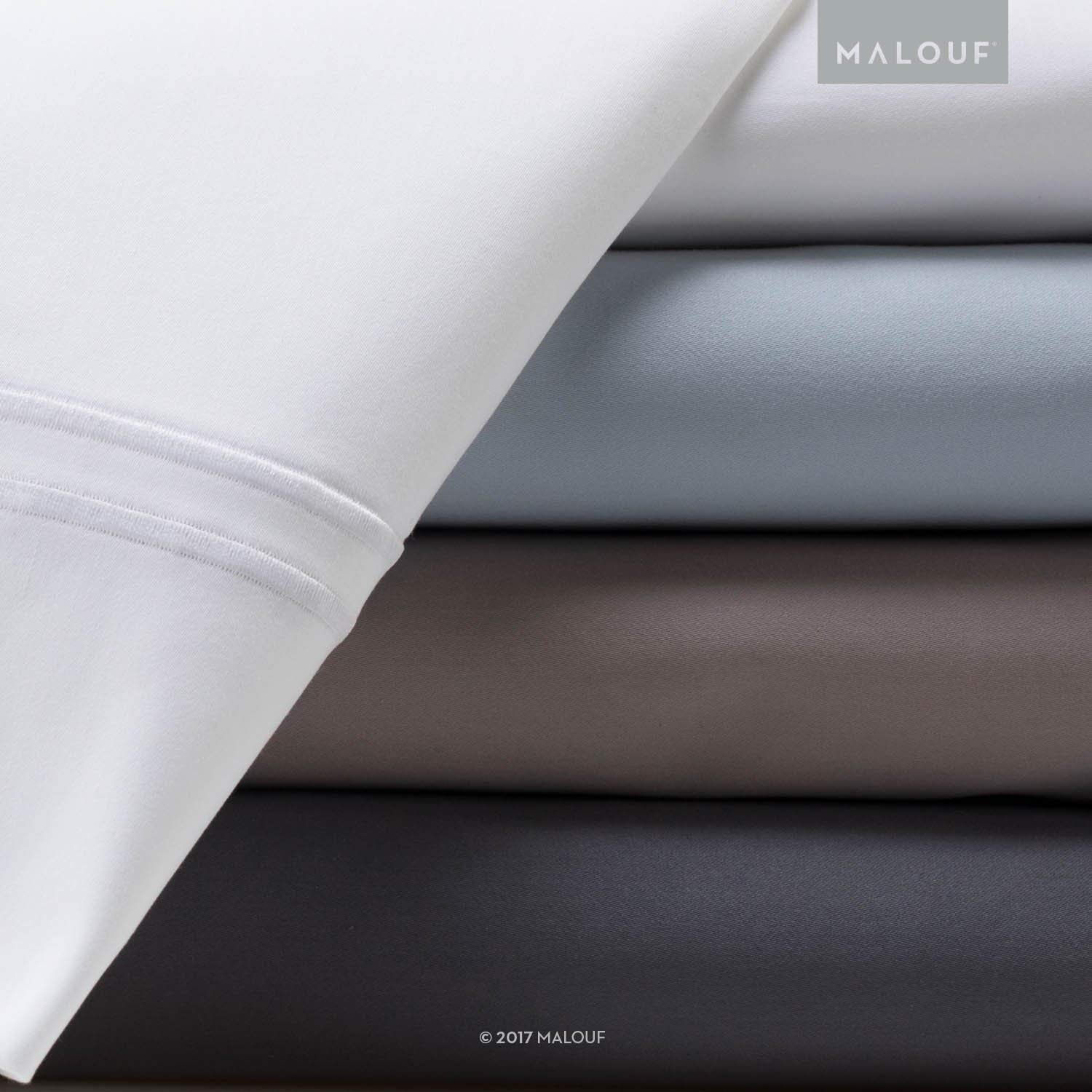 Malouf's Supima Cotton Sheet Set - Best 600 Thread Count Sheets