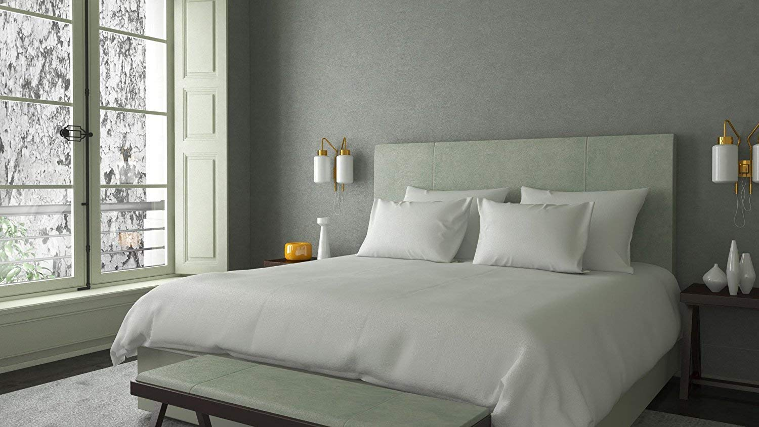 Image Of Moonstone S 1000 Thread Count 100 Cotton Sheet Set Best