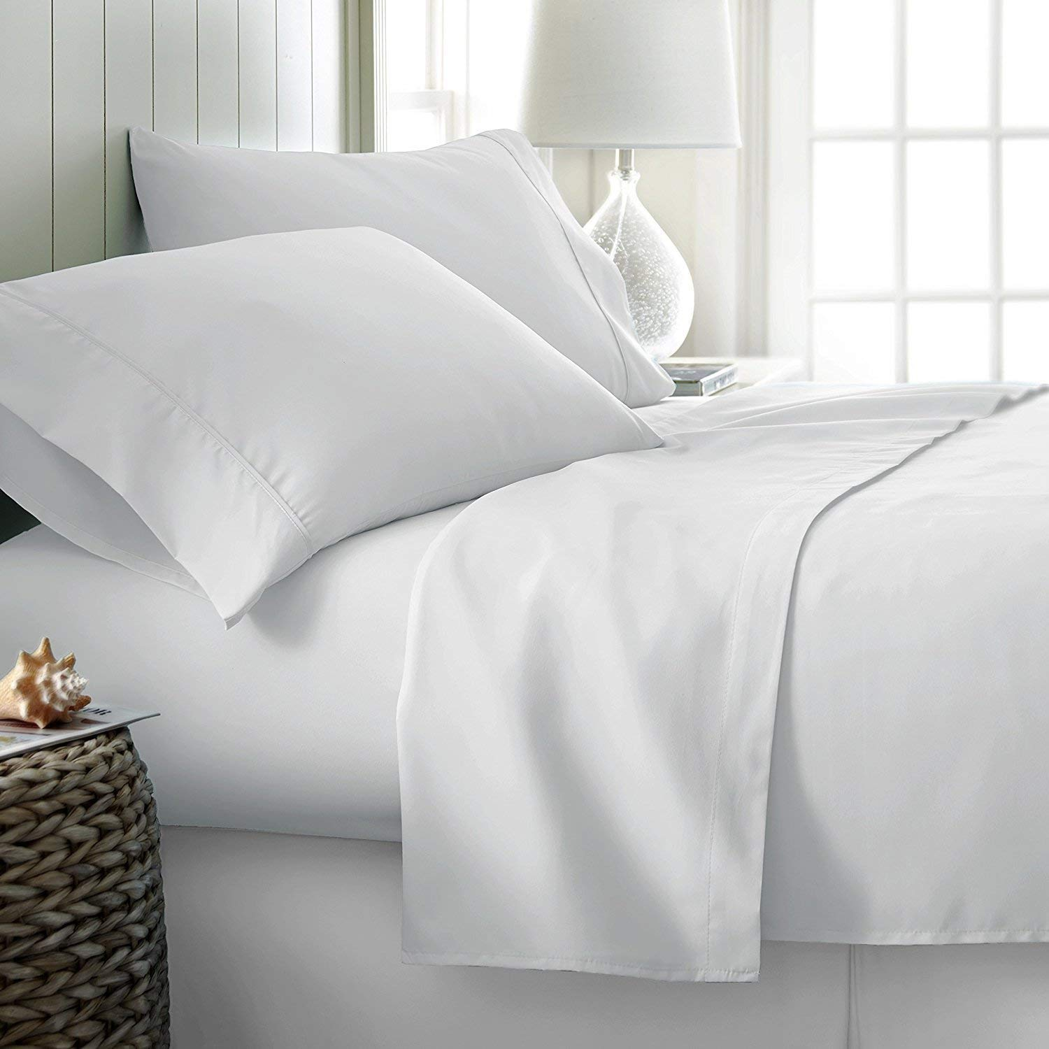 Image of Carressa Linen's 100% Egyptian Cotton Sheets - Best 600 Thread Count Sheets