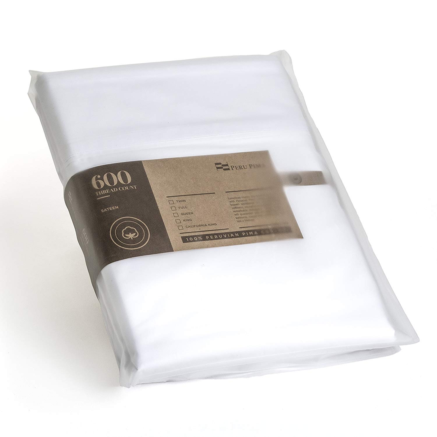 Image of Peruvian Pima sheets 600 thread count - Microfiber Sheets vs Cotton