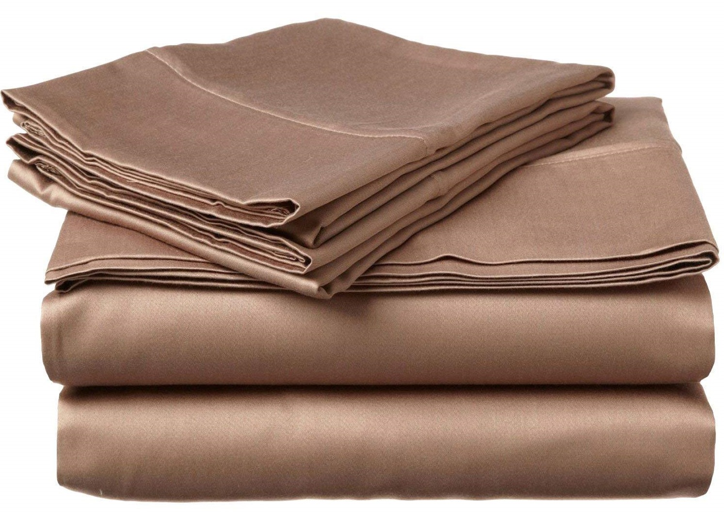 Image of LaxLinen 100% Egyptian Cotton Sheets - Microfiber Sheets vs Cotton