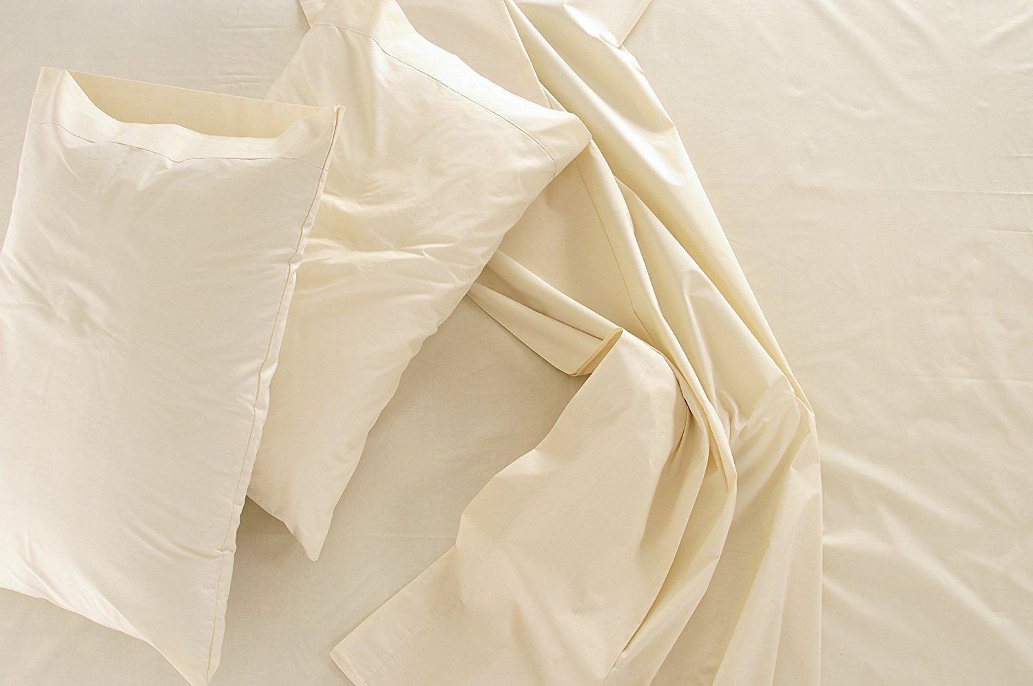 Image of Jose Farmer 100% Egyptian Cotton sheets with 600 thread count - Best Sheets for Sweaty Sleepers