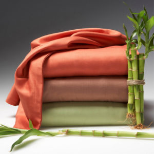 Image of Bamboo Sheets with Bamboo Plant - Best 600 Thread Count Sheets