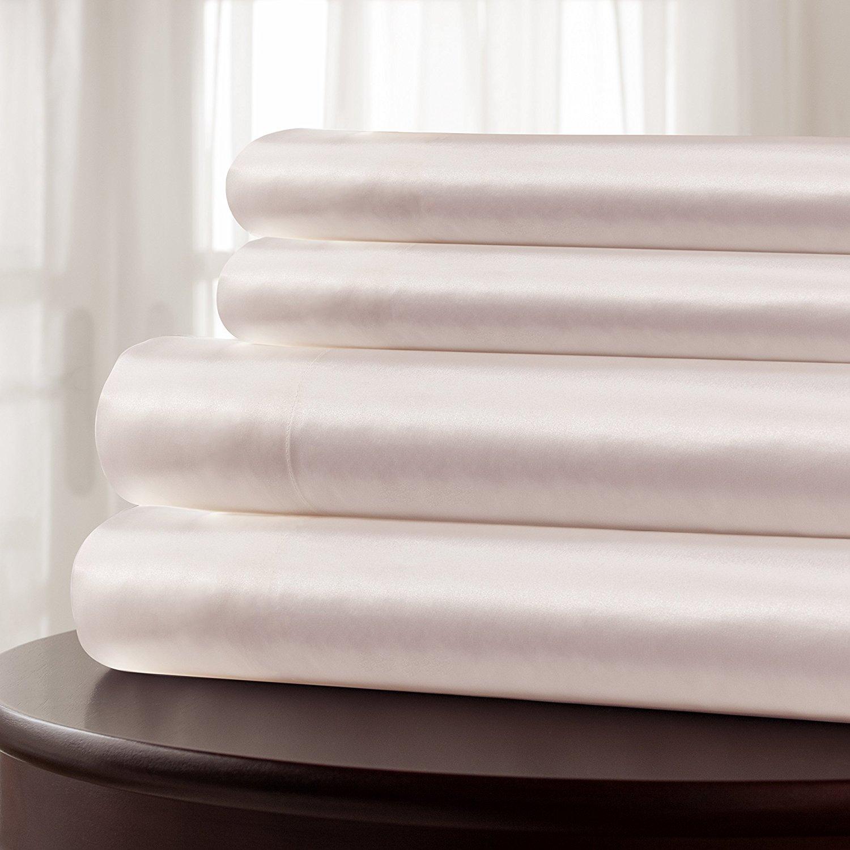 Mulberry Park Silks 22 Momme Silk Sheet Set - High Thread Count Sheets