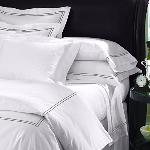Image of Sferra 100% Egyptian cotton bed sheets - Best Percale Sheets