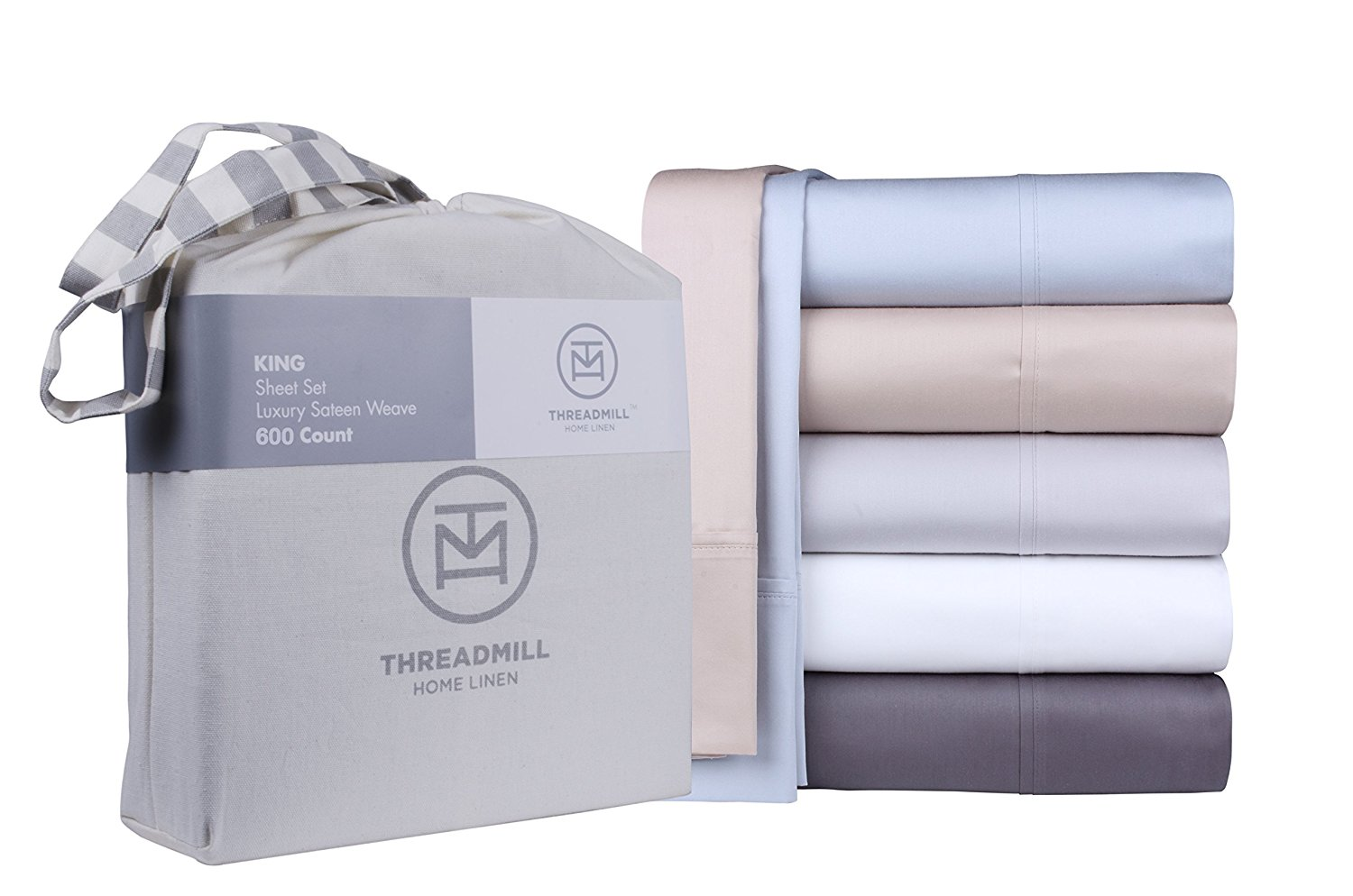 Image of Threadmill's 600 thread count sheet with extra long staple cotton - Best 600 Thread Count Sheets
