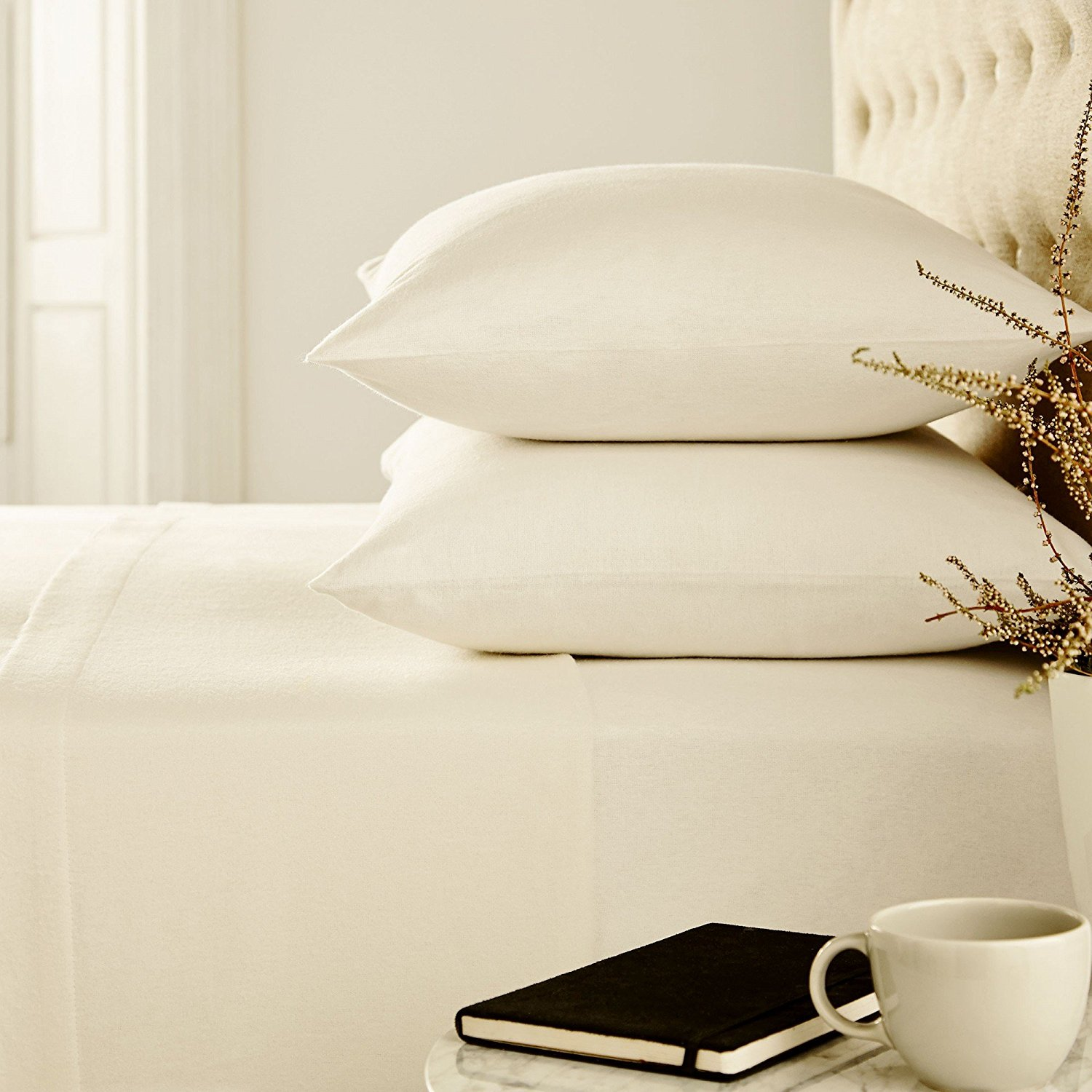 Image of Urban Hut's Egyptian cotton sheets with 700 thread count - High Thread Count Sheets
