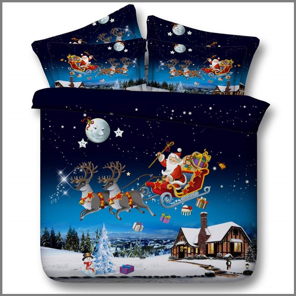 HyUkoa Christmas Duvet Cover Set - Buy Christmas Duvet Covers