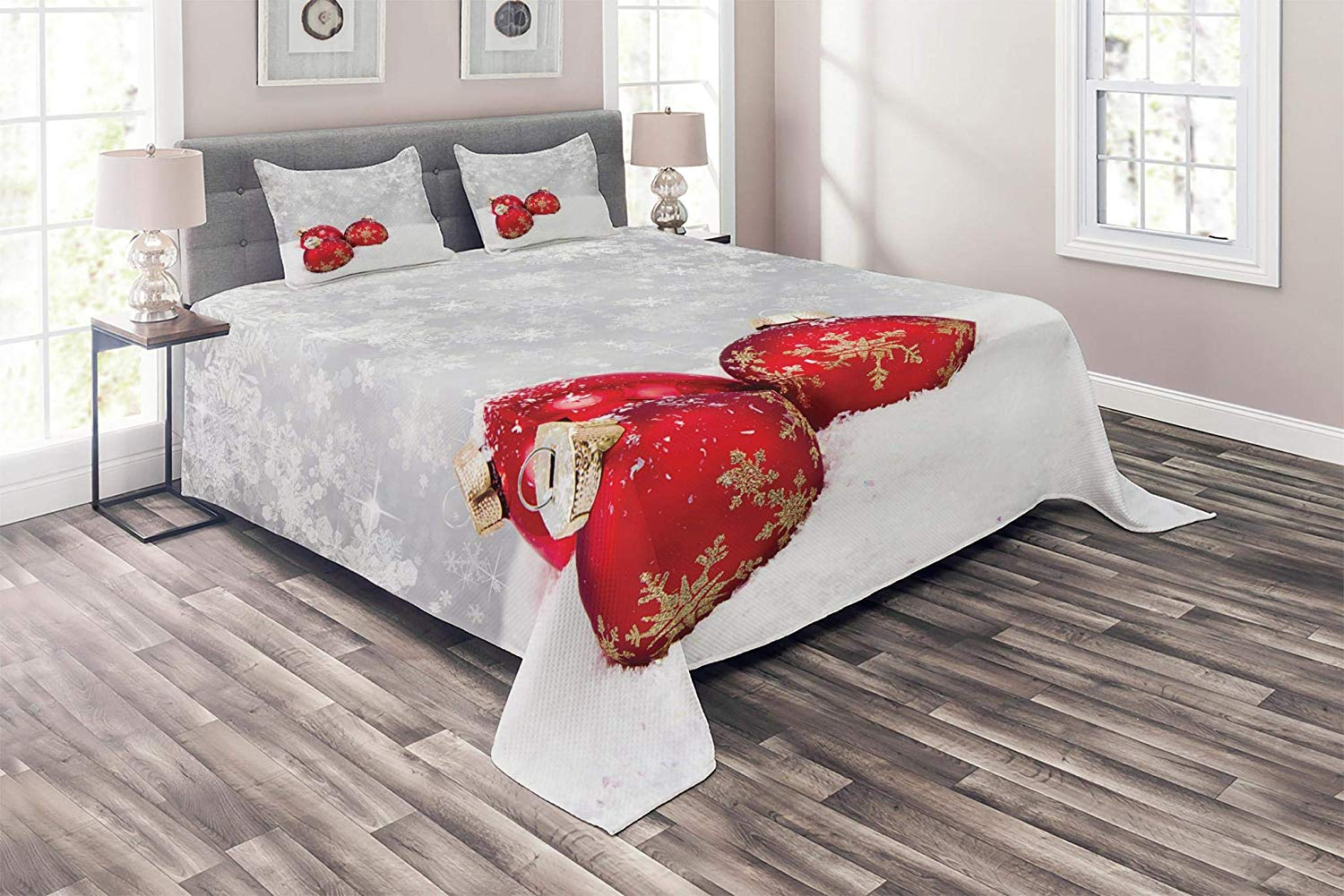 Ambesonne's Bedspread - Best Christmas Bedspreads And Quits