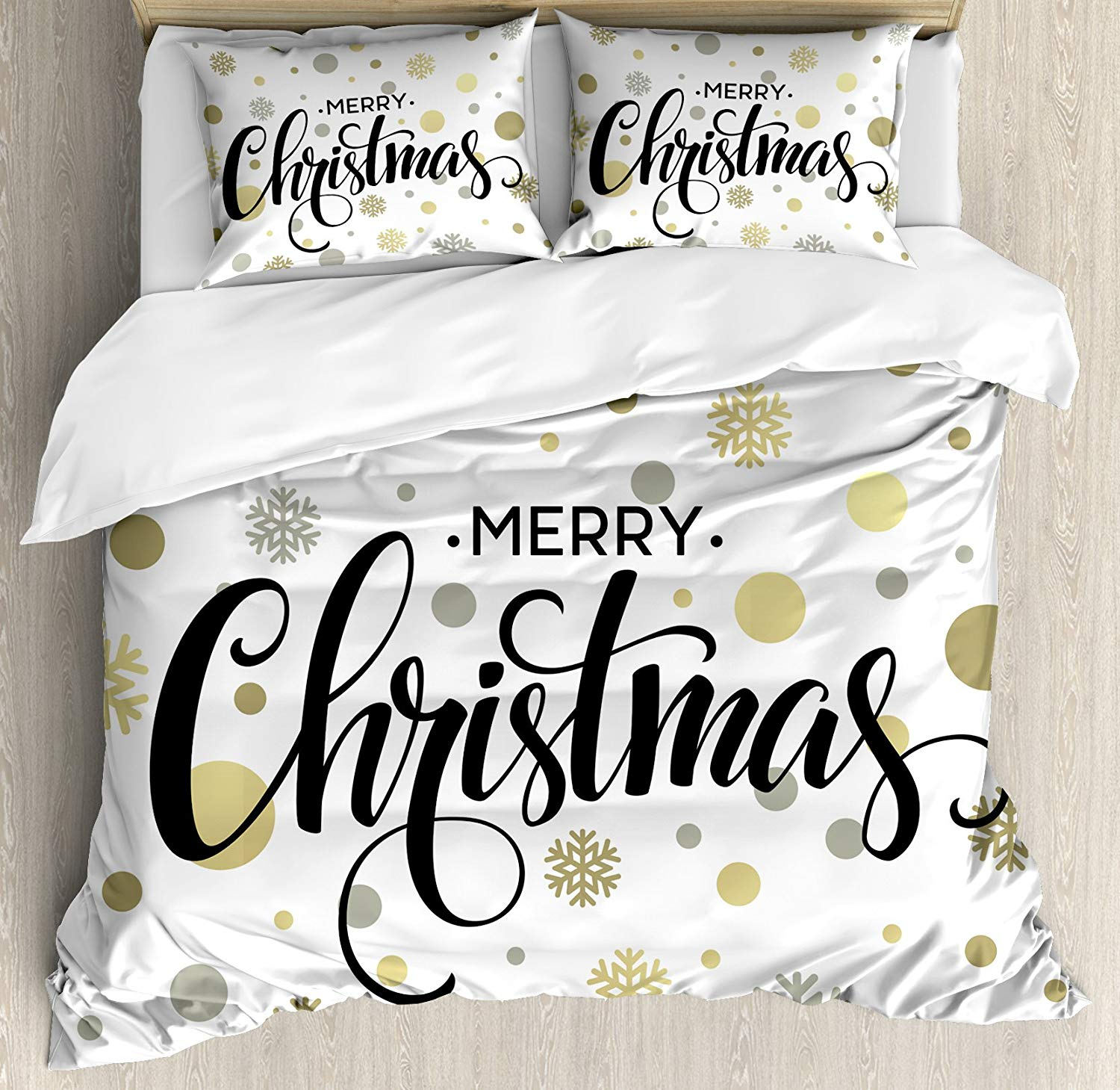 Ambesonne Merry Christmas Duvet Cover Set - Buy Christmas Duvet Covers