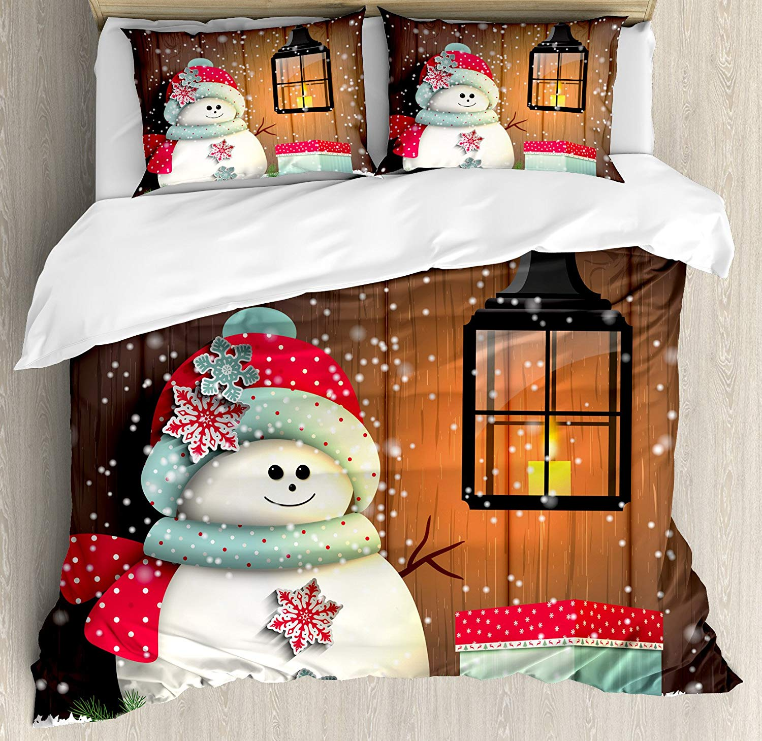 Ambesonne Christmas Duvet Cover Set - Buy Christmas Duvet Covers
