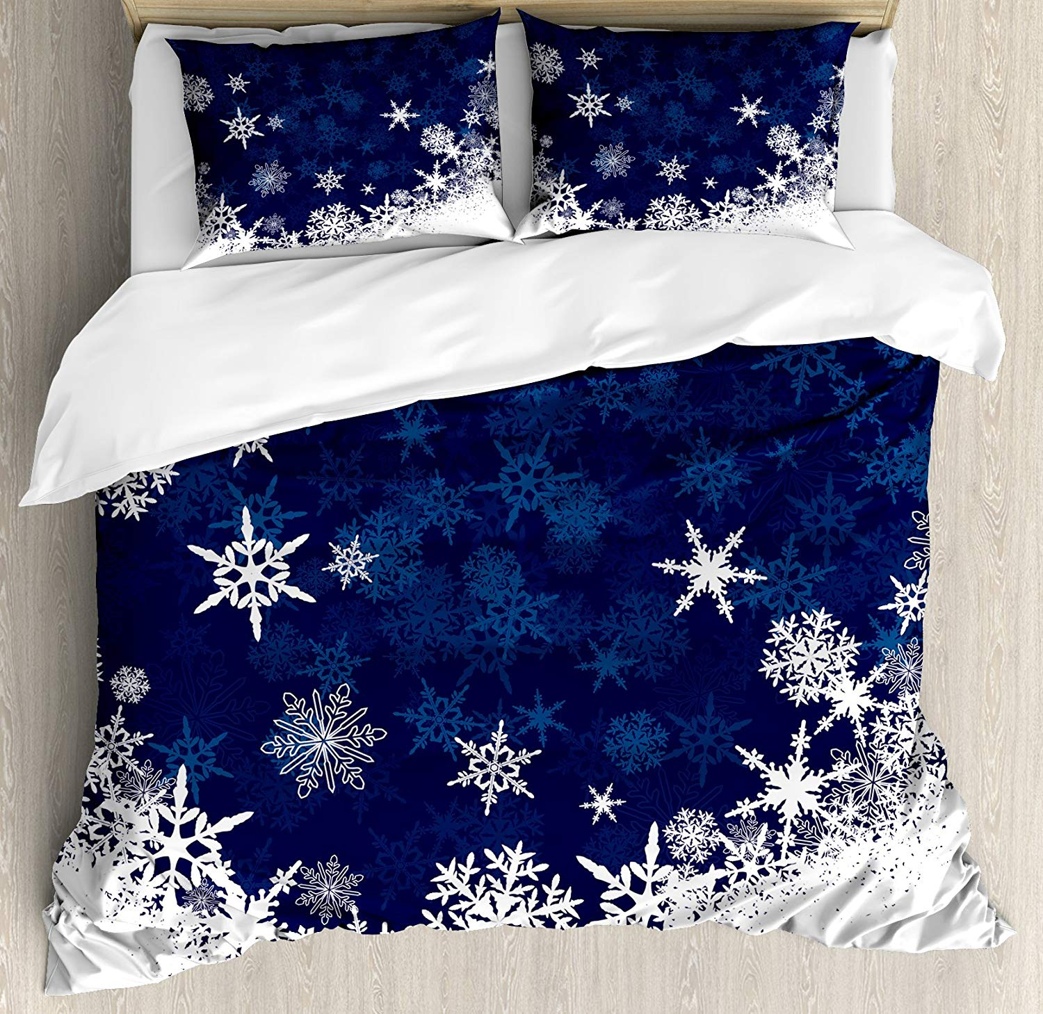 Lunarable Christmas Duvet Cover Set - Buy Christmas Duvet Covers