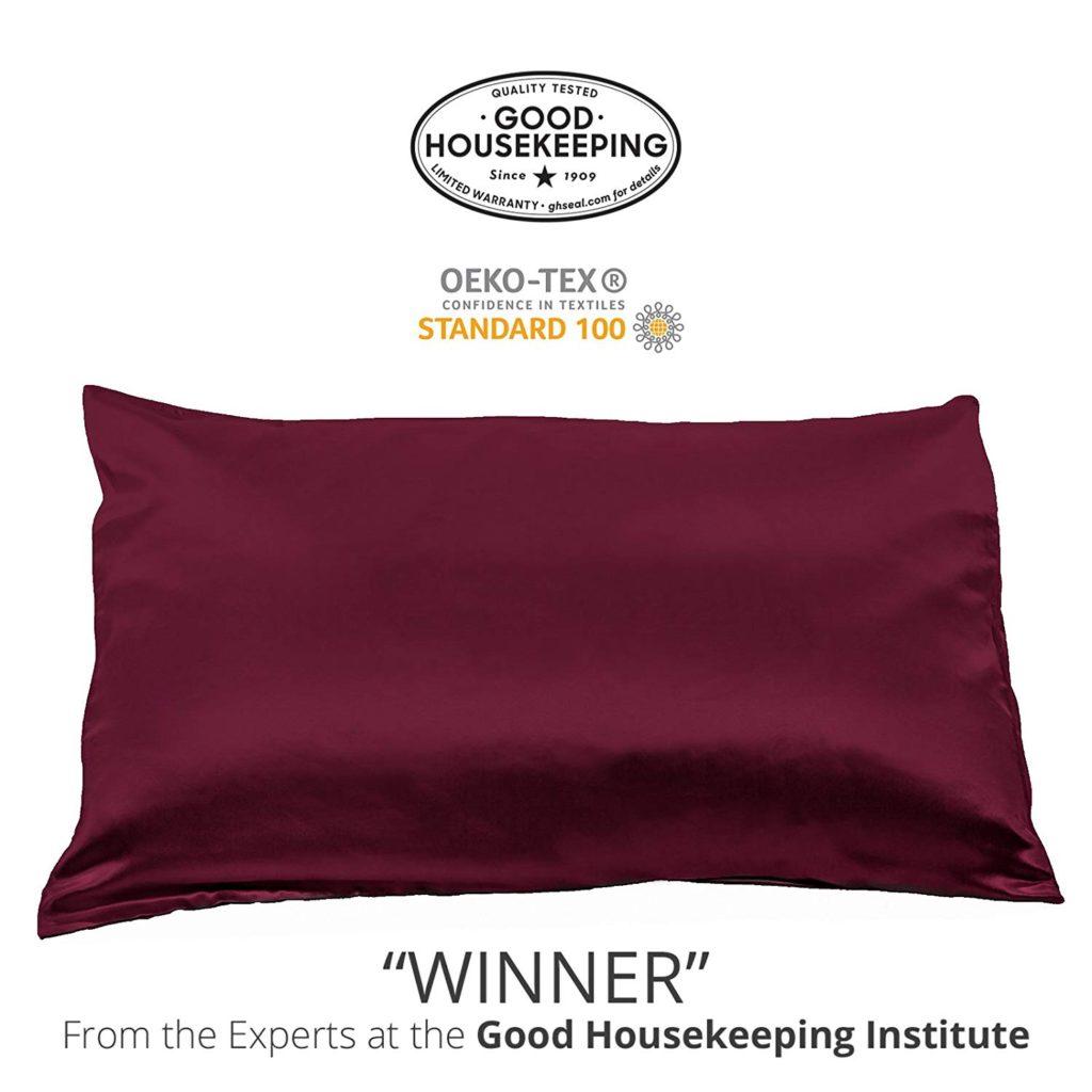 Buy Fisher's Finery 25 momme Silk Pillowcase - Best Pillowcase for Hair