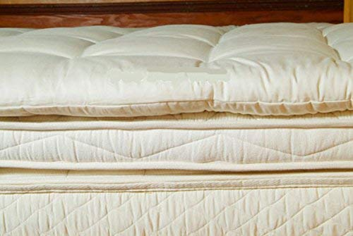 Holy Lamb Organics's Wool Mattress Topper - Top Rated Mattress Toppers