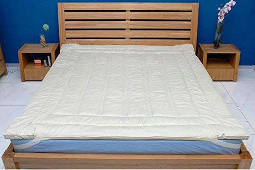 Sleep & Beyond Merino Wool Mattress Topper - Top Rated Mattress Toppers