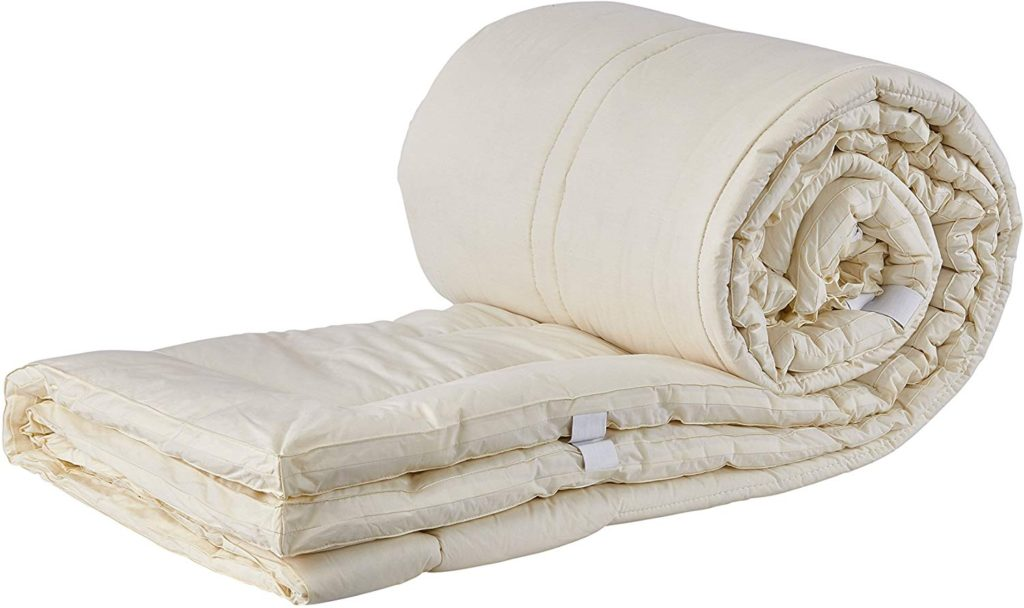 Sleep & Beyond Shropshire Wool Mattress Topper - Top Rated Mattress Toppers