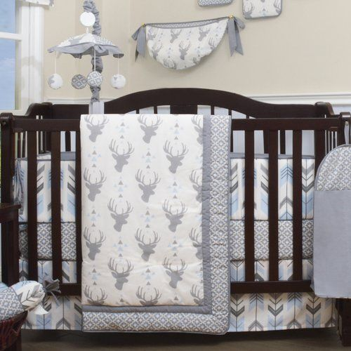 Geenny 13 Piece Crib Bedding Set - Best Christmas Crib Sheets
