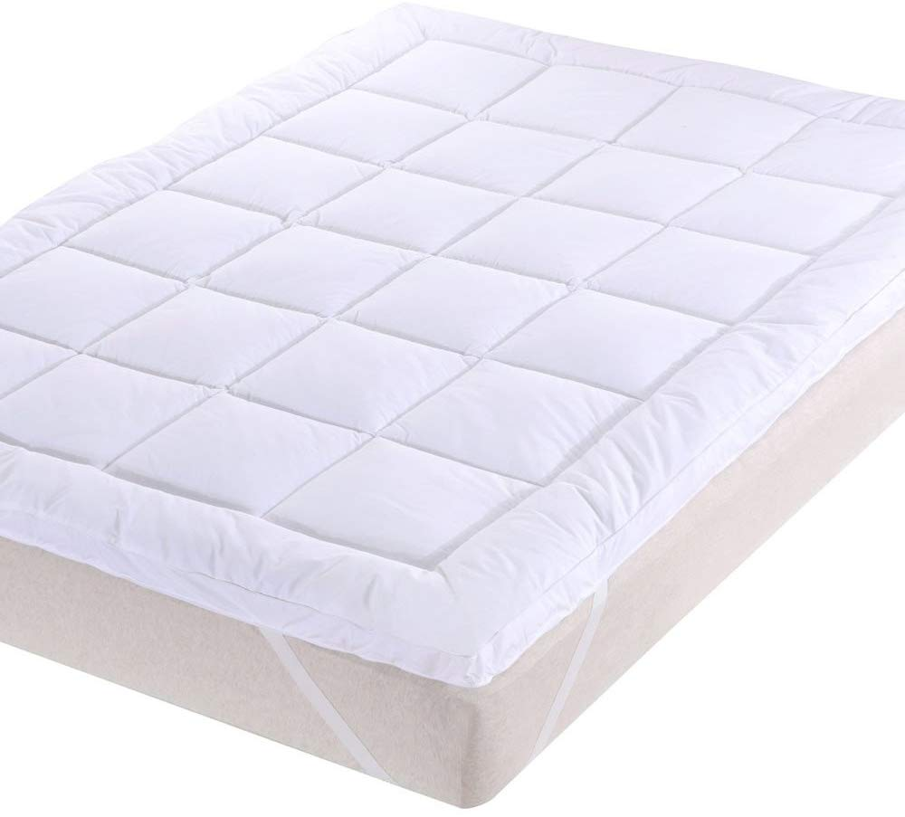 Sheetsnthings Down Alternative Mattress Topper - Top Rated Mattress Toppers