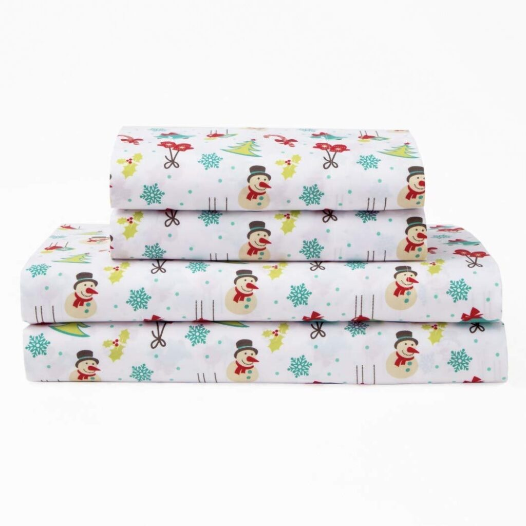 OV Christmas Wonderland Sheets - Best Christmas Sheets Queen Size