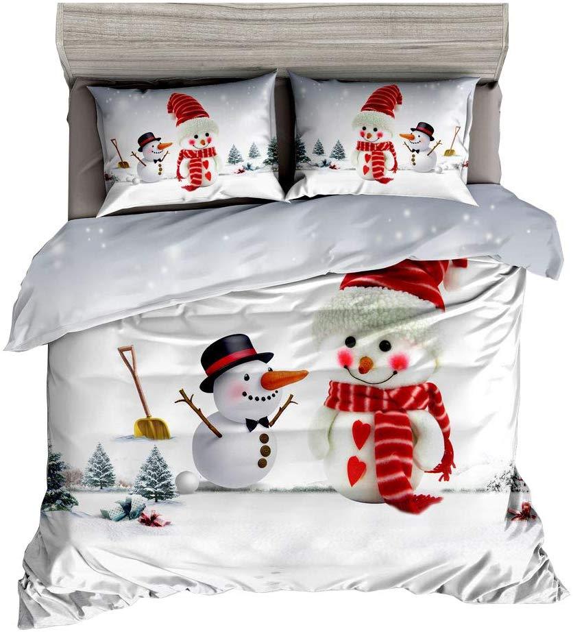 KTLRR Snowman Christmas Duvet Cover Set - Buy Christmas Duvet Covers