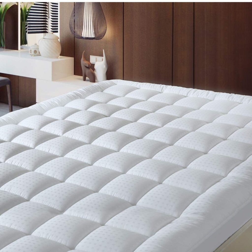 Balichun Down Alternative Mattress Topper - Top Rated Mattress Toppers
