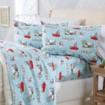Oakridge Red Truck Sheet Set - Red Truck Christmas Sheets
