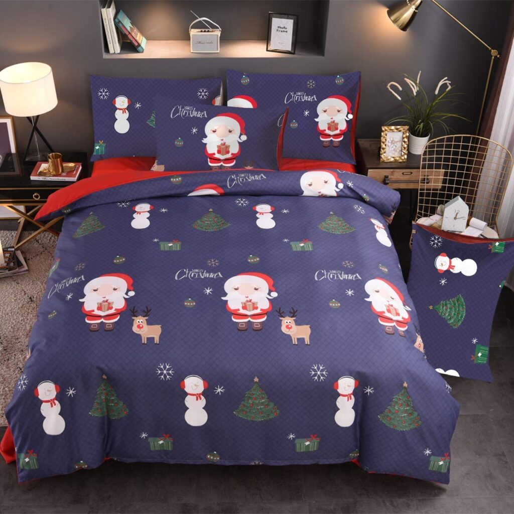 Nattey Christmas Duvet Cover Set - Buy Christmas Duvet Covers
