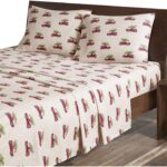 Woolrich Red Truck Sheet Set - Red Truck Christmas Sheets