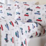 Home Fashion Designs' Red Truck Sheet Set - Red Truck Christmas Sheets