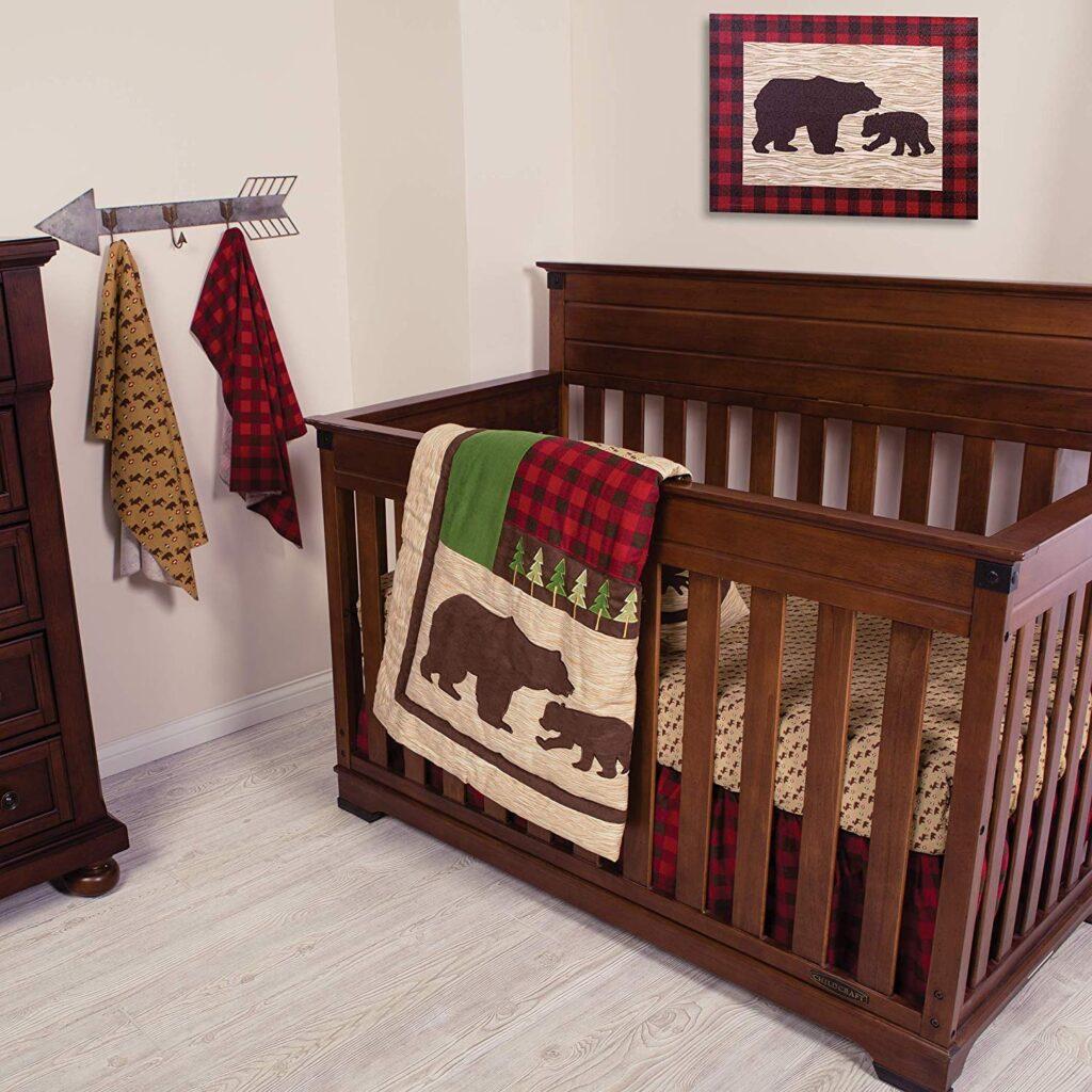 Trend Lab Crib Bedding Set - Best Christmas Crib Sheets