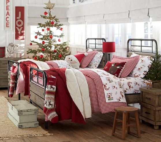 Christmas Bedroom Decorations - Best Christmas Sheets Twin Size