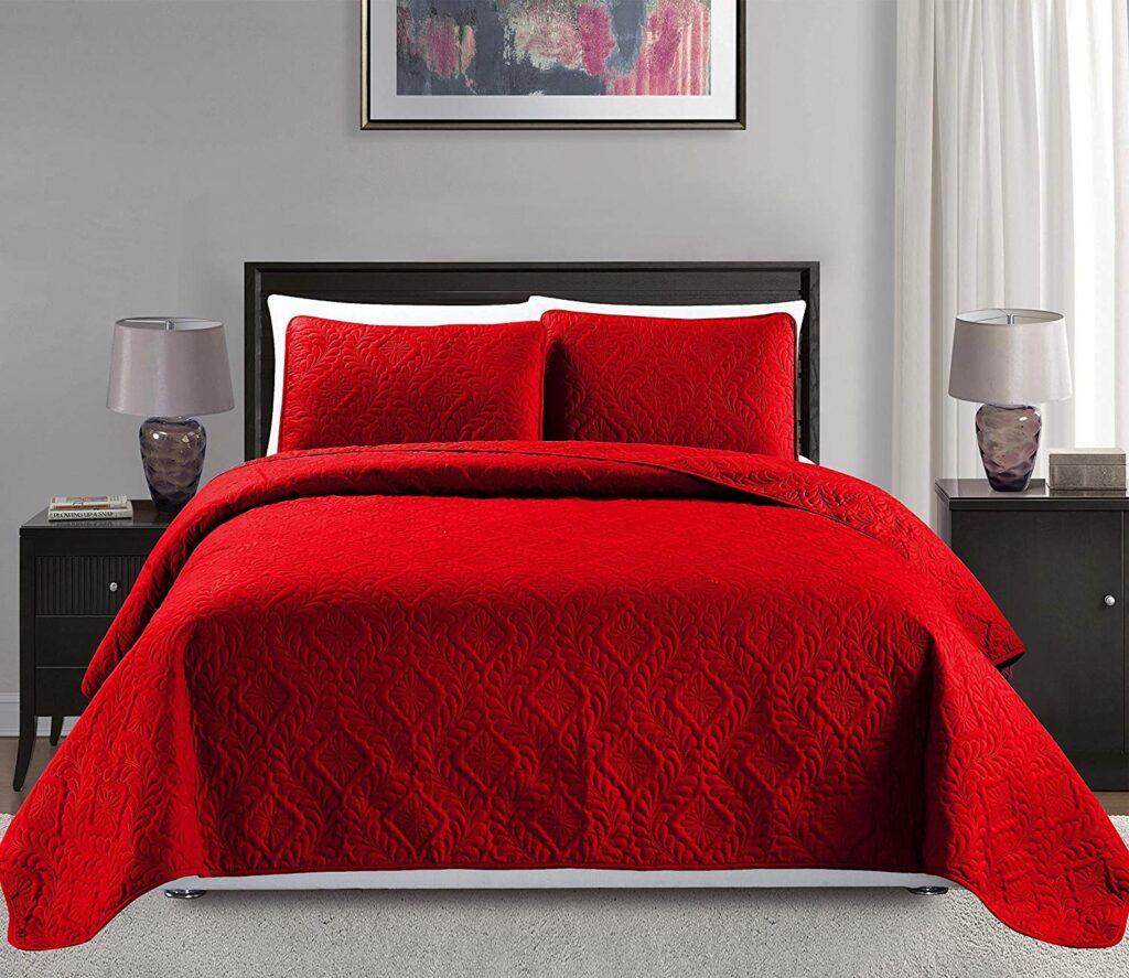 MK Home Bedspread - Best Christmas Bedspreads King Size