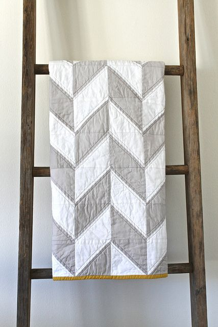 White and Grey Quilt - Best Christmas Bedspreads And Quilts