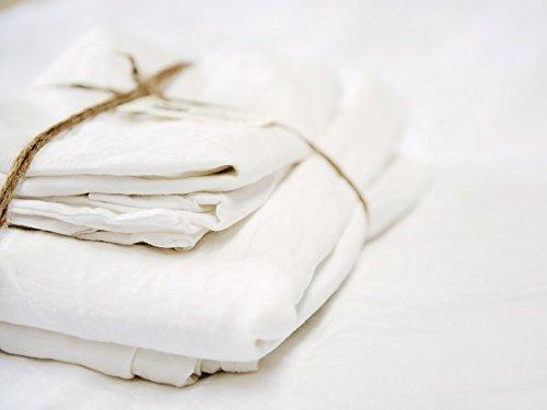 Lausonhouse Linen Sheet Set - Best Sheets for Sweaty Sleepers