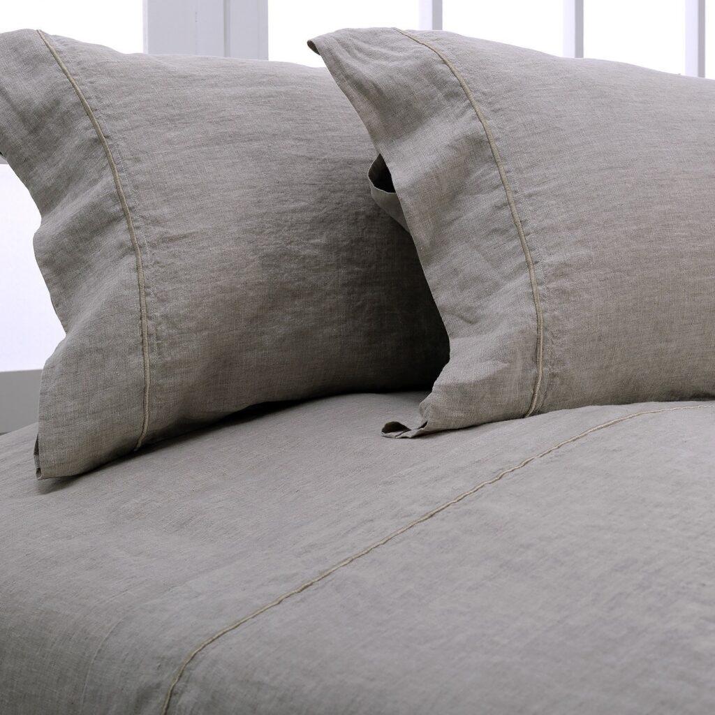 Simple&Opulence 100% Linen Sheet Set - Best Sheets for Sweaty Sleepers