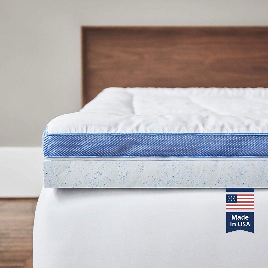 Viscosoft latex & memory foam mattress topper - Best Mattress Topper for Back Pain