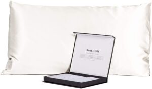Fisher's Finery 30 momme Silk Pillowcase - Best Pillowcase for Hair