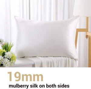 Zimasilk 19 momme Silk Pillowcase - Best Pillowcase for Hair